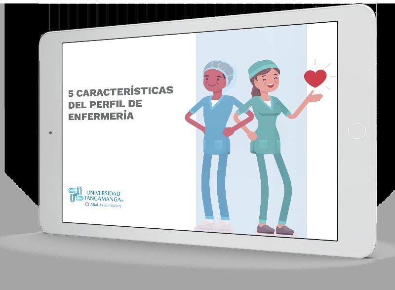 5 características del perfil de Enfermería